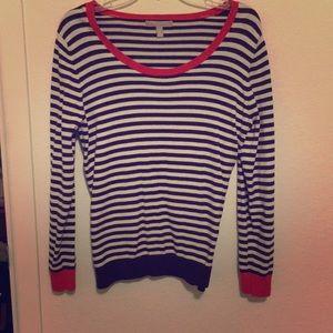 Banana Republic Superloft Stripe Sweater